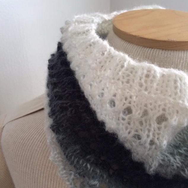 Creative Designs By Sheila Zachariae Easy Eyelet Cowl Knitting Pattern