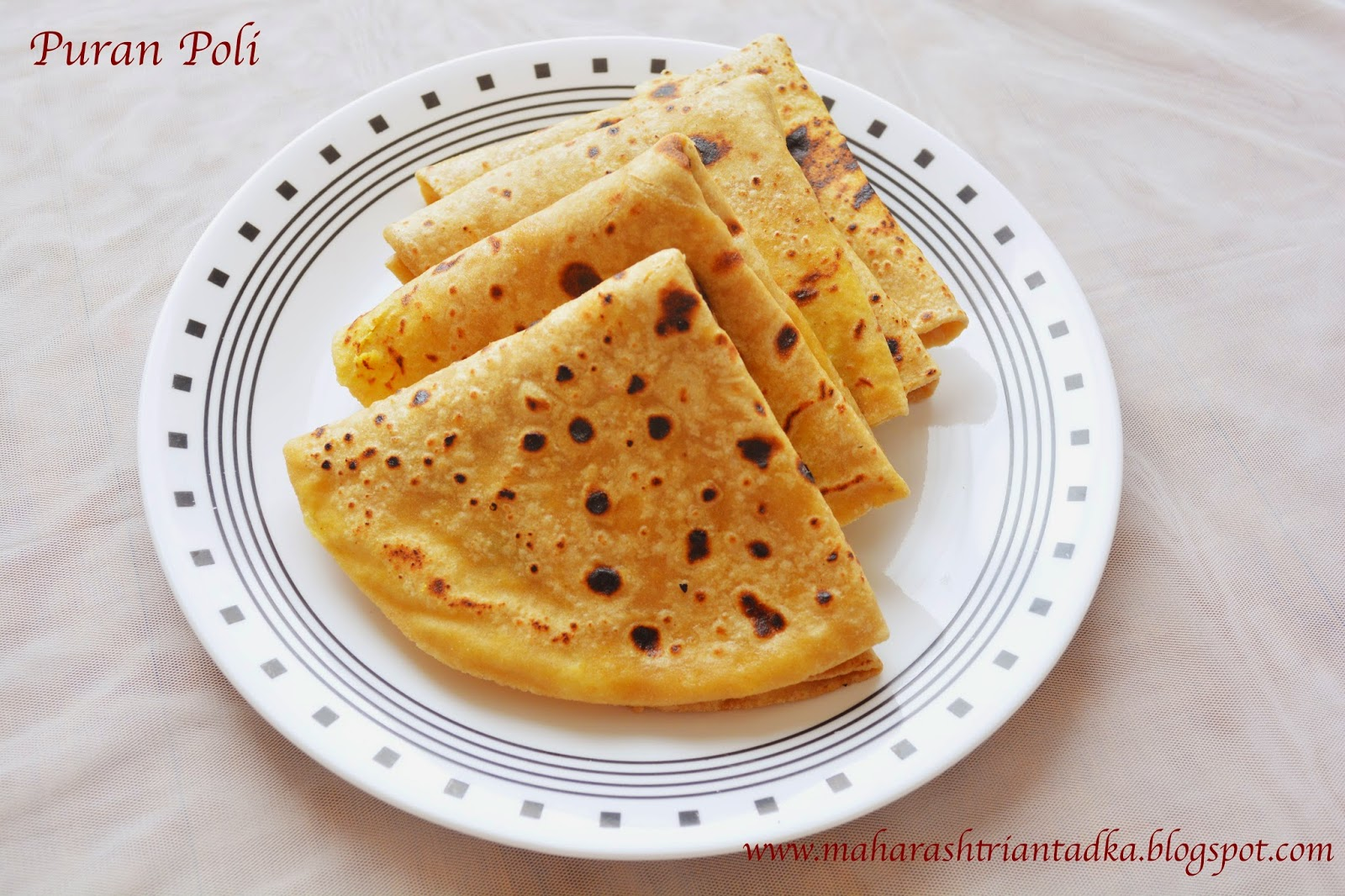 Puran Poli Is A Classical Maharashtrian Dish Look Wise This Traditional Sweet Is Similar To Roti But The Preparation Is Entirely Different