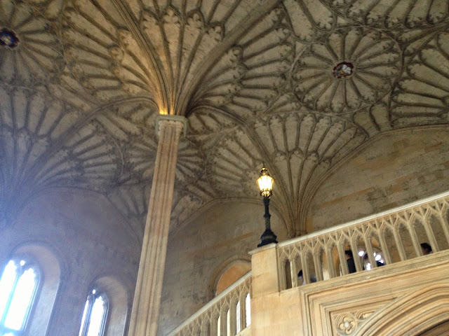 Christ Church College Hogwarts staircase