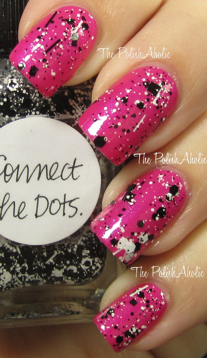 The PolishAholic: Lynnderella Connect The Dots