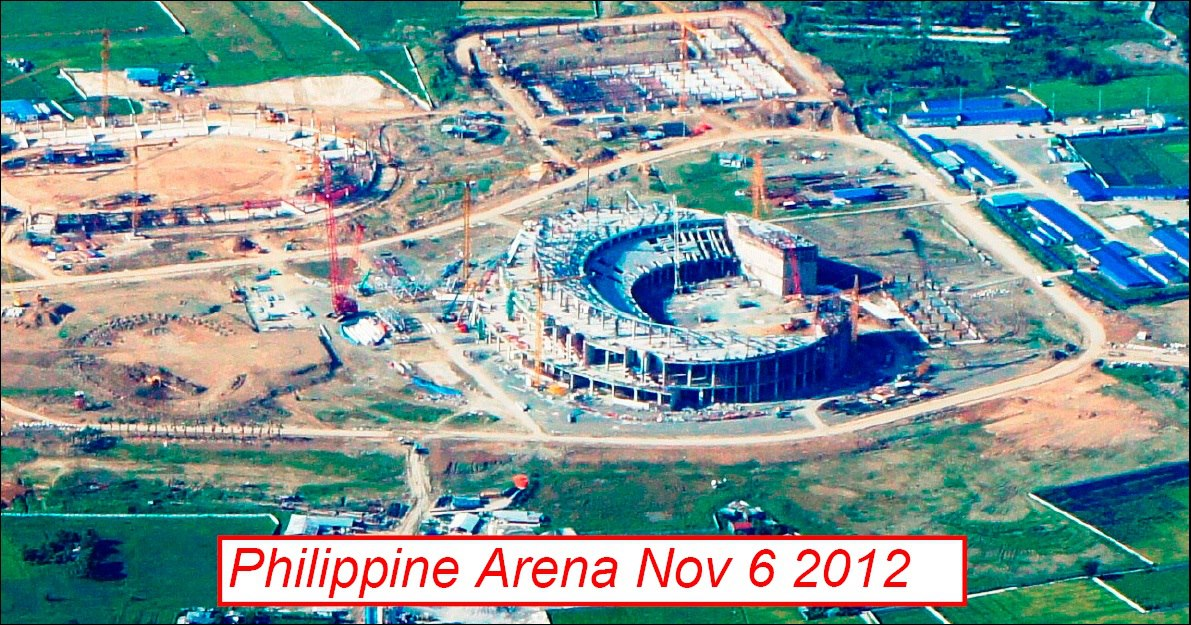 Philippine Arena and Philippine Stadium Feb. 2013 UPDATE