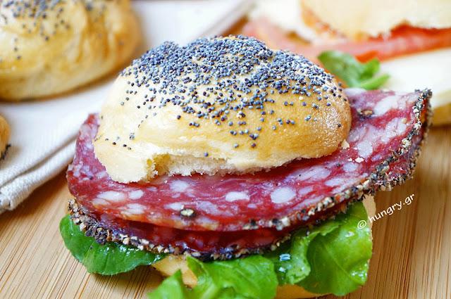 Ψωμάκια για Σάντουϊτς
