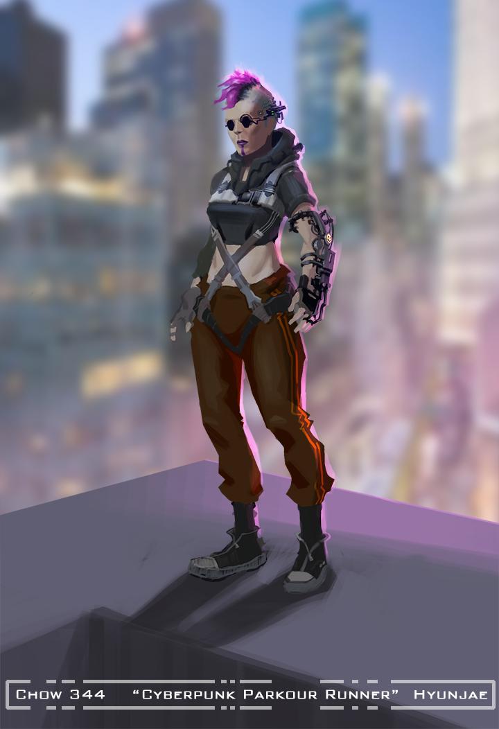 CHOW #344 :: Cyberpunk Parkour Runner :: FINALS