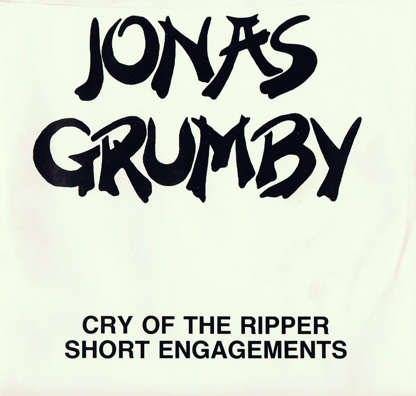 Jonas Grumby Cry Of The Ripper Short Engagements