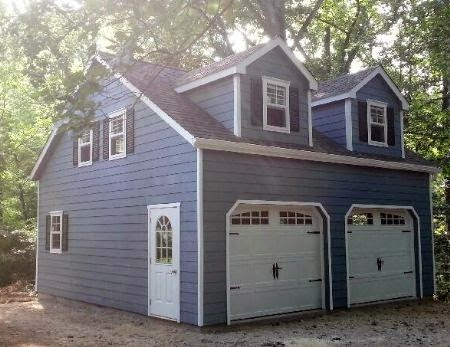 Stoltzfus structures 3 reasons a detached garage is a for Separate garage cost