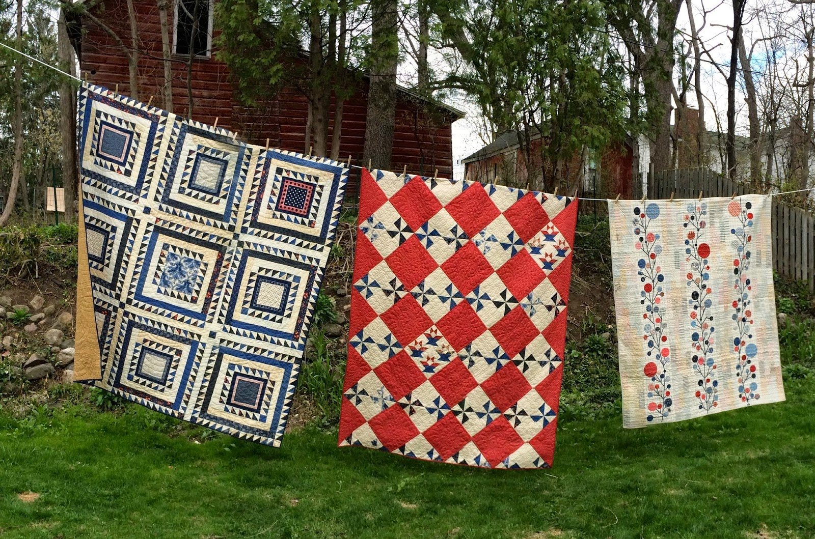 moda starstripes gone prairie quilts finished aussie paisley quilting quilt