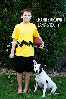 Charlie Brown Duct Tape Costume