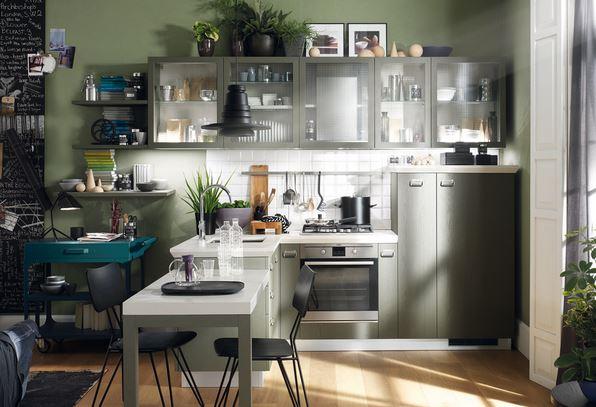 Arredo a modo mio: Diesel Social Kitchen di Scavolini, una cucina rock!