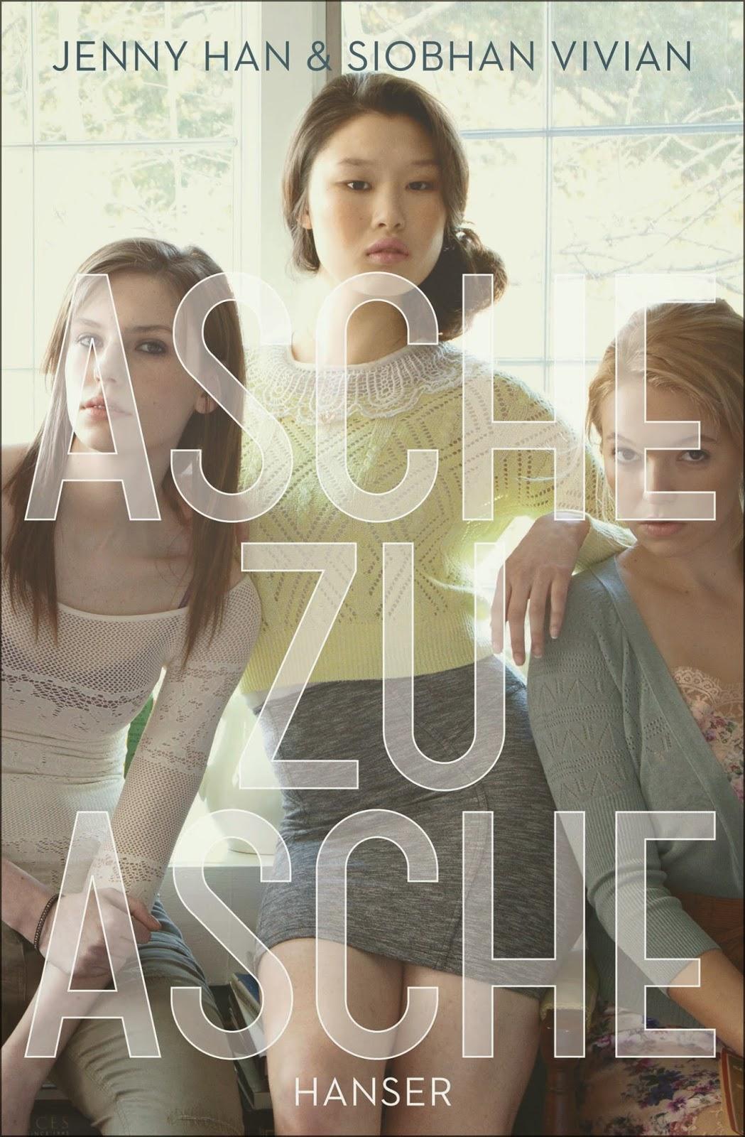 http://www.amazon.de/Asche-zu-Jenny-Han/dp/3446247424/ref=sr_1_1?s=books&ie=UTF8&qid=1425171164&sr=1-1&keywords=asche+zu+asche
