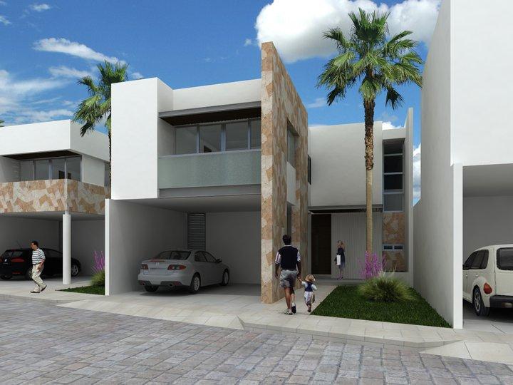 Fachadas contempor neas febrero 2013 for Casas residenciales minimalistas
