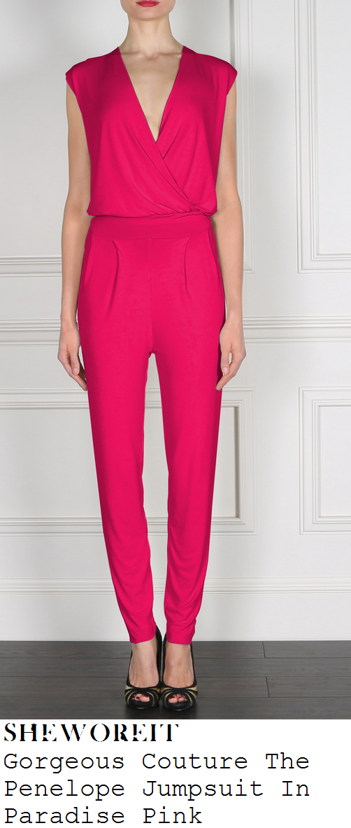 jessica-wright-bright-fuschia-pink-sleeveless-jumpsuit-tric-awards