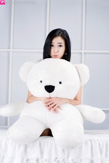 3 Kim Ha Yul - Ruffle Mini Dress-very cute asian girl-girlcute4u.blogspot.com