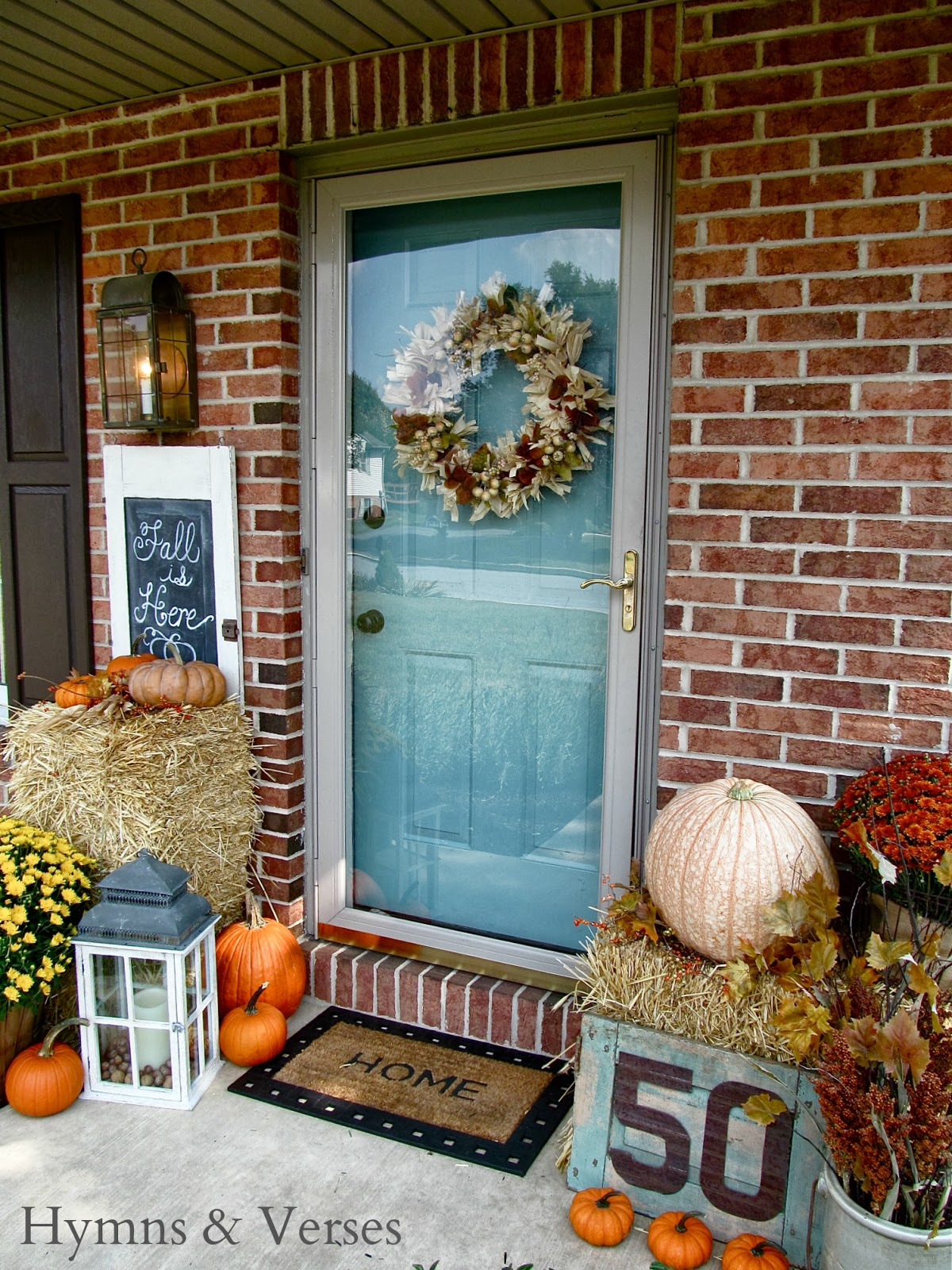 Fall Front Porch Hymns and Verses