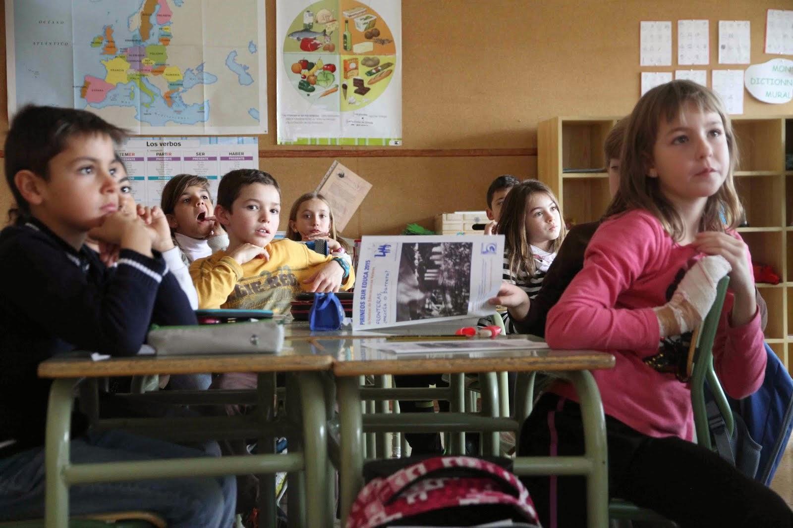 Las fronteras, a debate en el aula