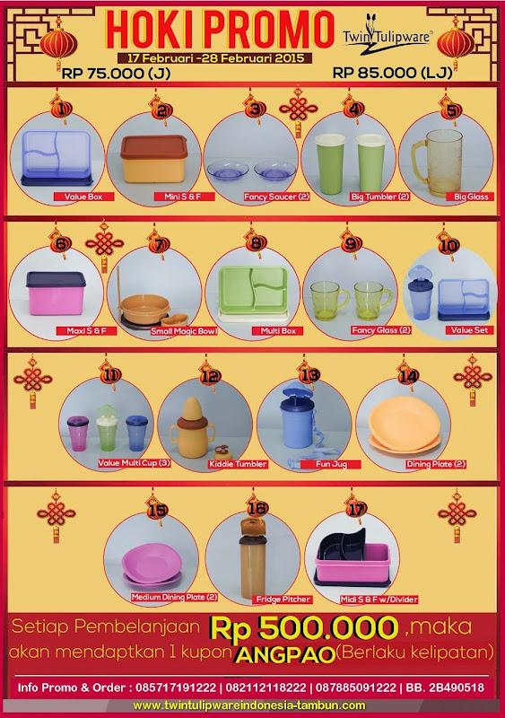 HOKI Promo Tulipware 2015 - Bonus Angpao