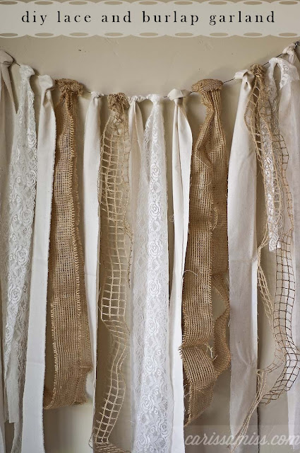 Blank Burlap And Lace ...