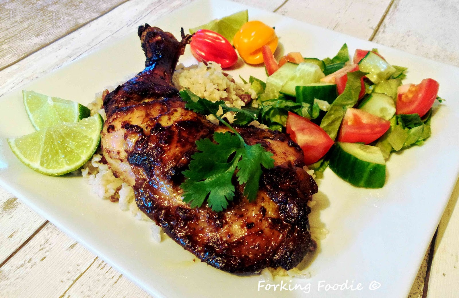 Forking Foodie: Jamaican Jerk Chicken (includes Thermomix instructions ...
