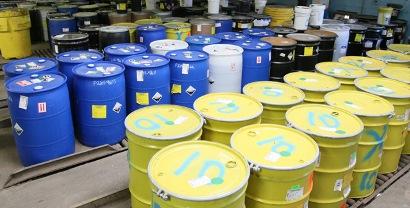 Autorizacion de gestión de residuos peligrosos - Contenedores