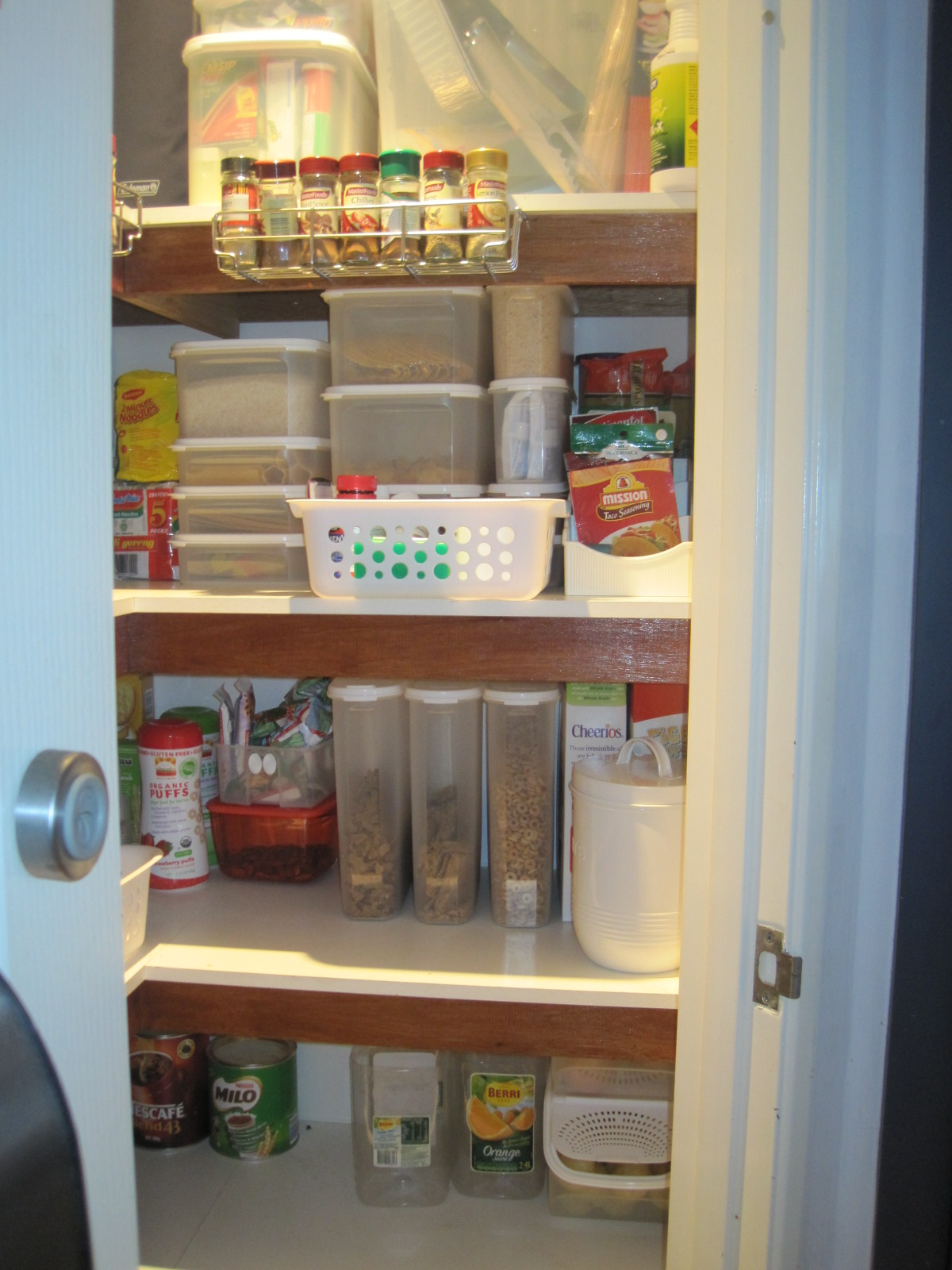 Living On A Latte My Pantry