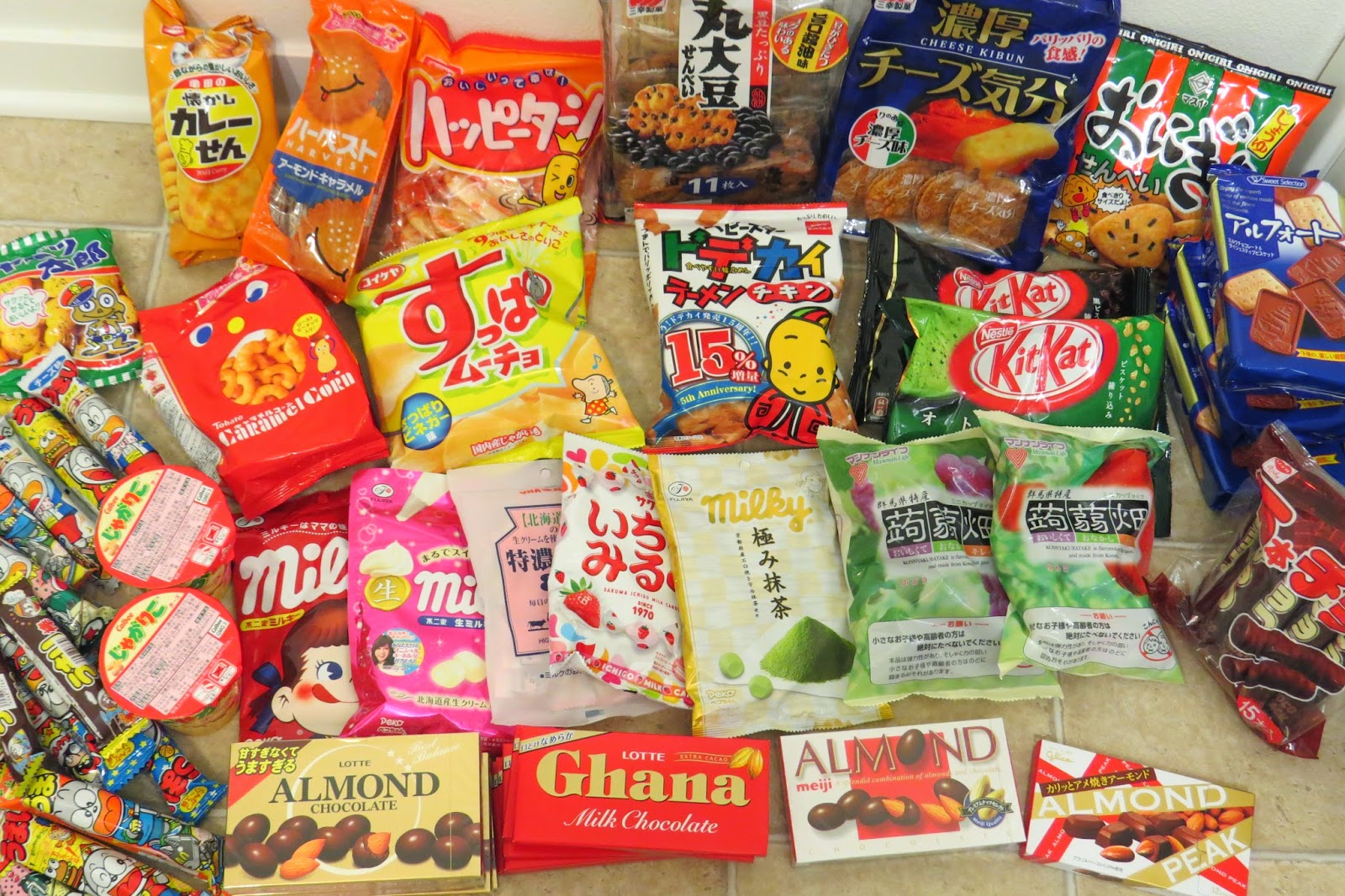 Haul - Japanese Sweets and Snacks Part 2 | It has grown on me!