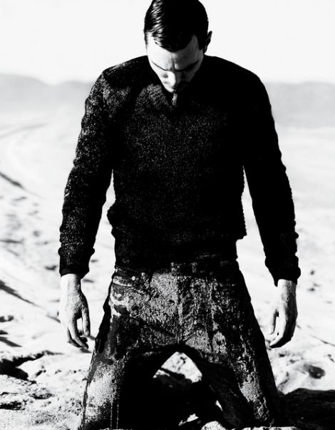 Nicholas Hoult by Mario Testino for VMan