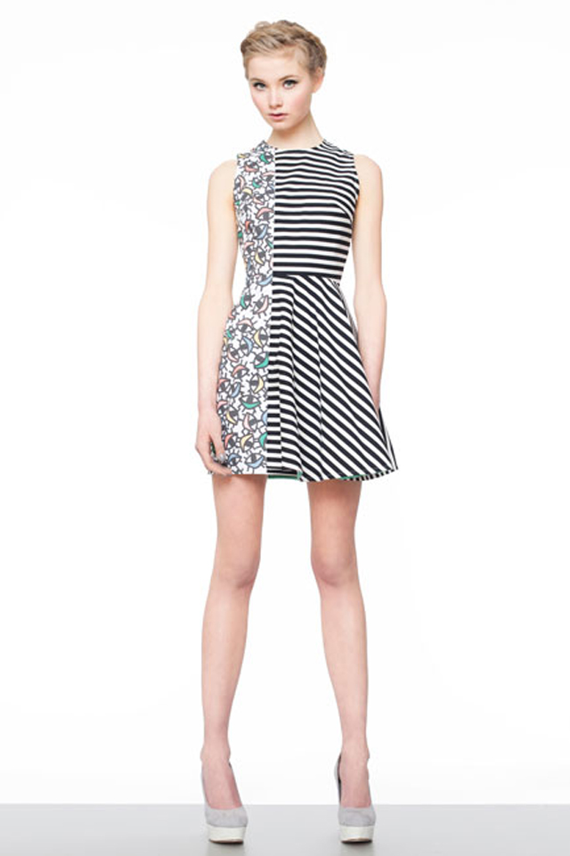 Joanna Pybus, Eye, Stripes, Dress