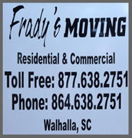 Frady's Moving: