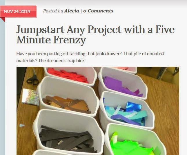http://www.theartofed.com/2014/11/24/jumpstart-any-project-with-a-five-minute-frenzy/