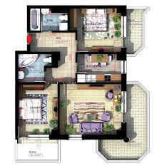 Royal Town Copou Iasi - Apartament 3 camere - 87,90 mp