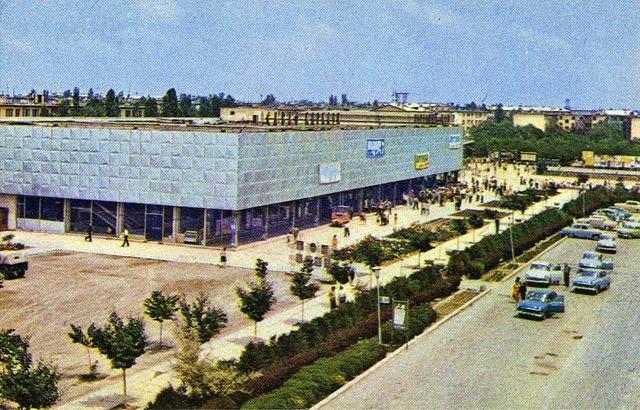 Торговый Центр Чиланзар - старое фото