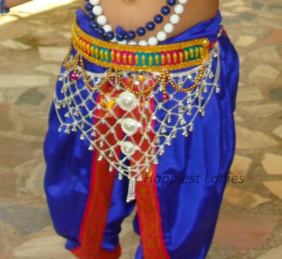 krishna costume - dhoti