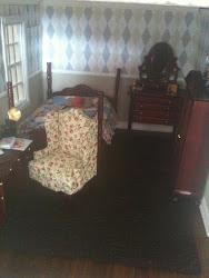 The Argyle bedroom