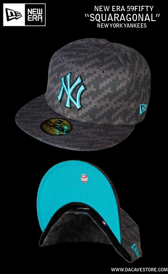colorway for this 59fifty cap. Graphite/Teal colored New York yankees.