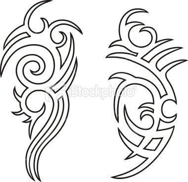 Tribal Tattoo Designs Outline