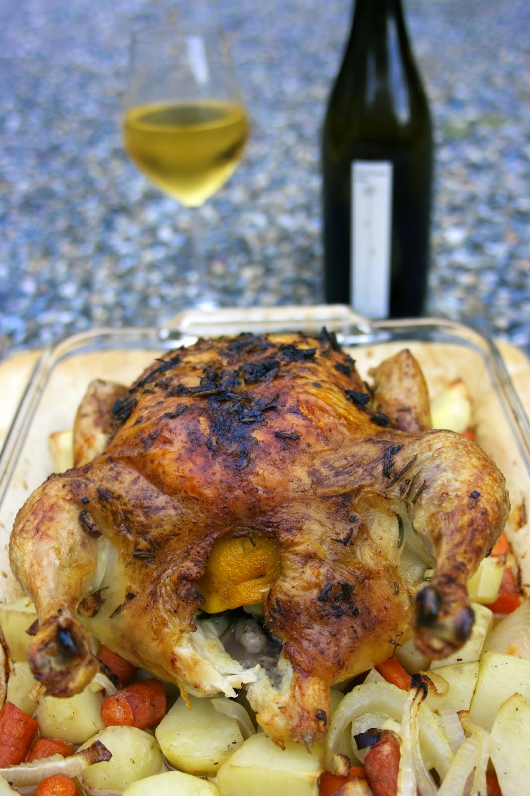 Tuscan Roast Chicken, shared by Simple Living and Eating