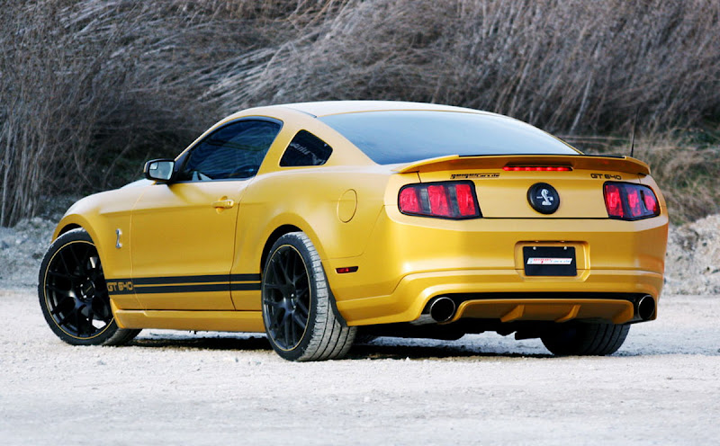 Ford Mustang Shelby Golden Snake by Geiger