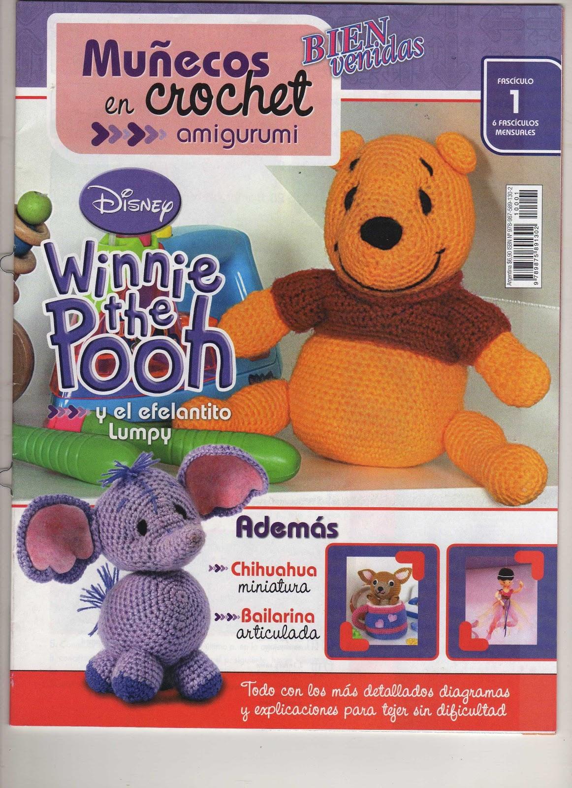 Revista: Bienvenidas- Especial Amigurumi personajes Winnie Pooh ...