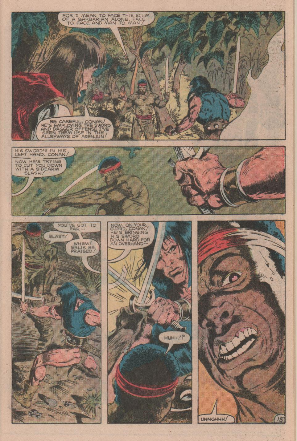 Conan the Barbarian (1970) Issue #160 #172 - English 16