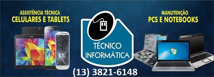 Manutenção de celulares - Técnico de Informática