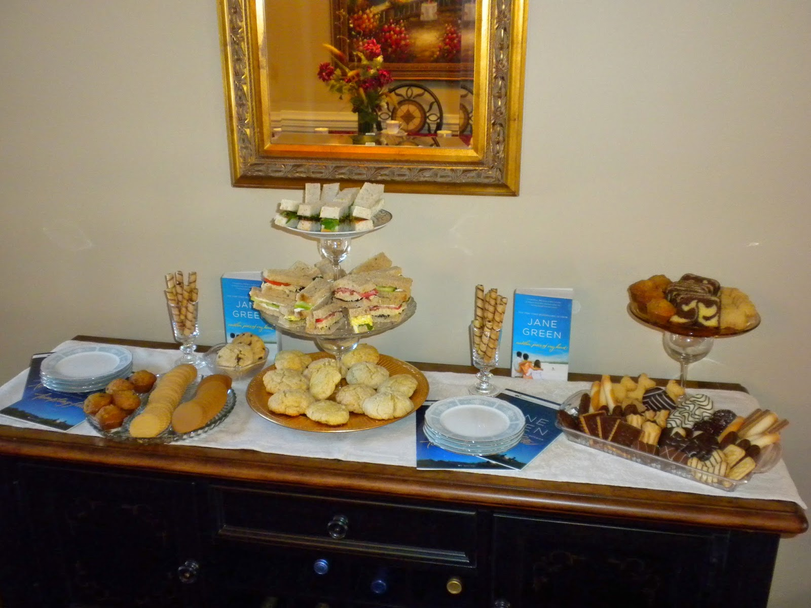 "Jane Green's ""Tempting Fate"" Tea Party"