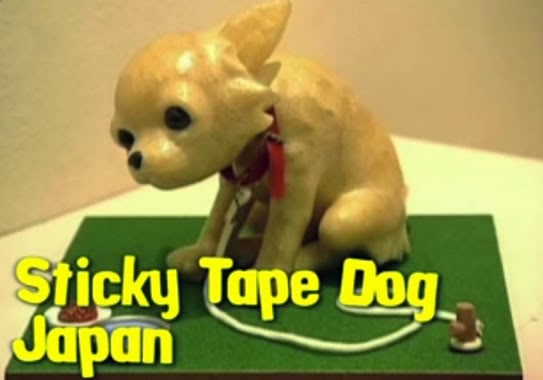 Sticky Tape Dog - Japan