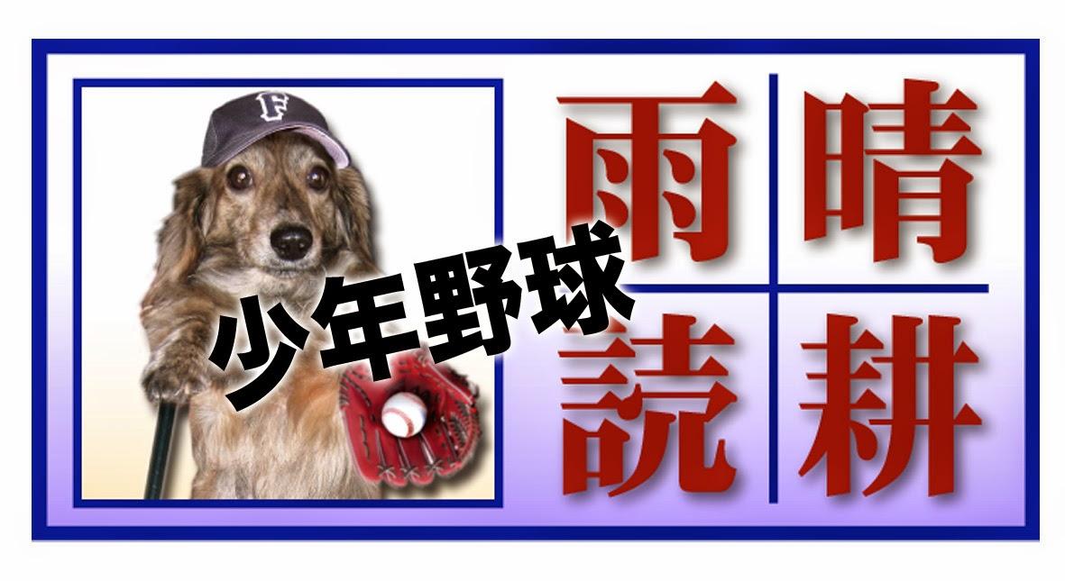 少年野球「晴耕雨読」Blog