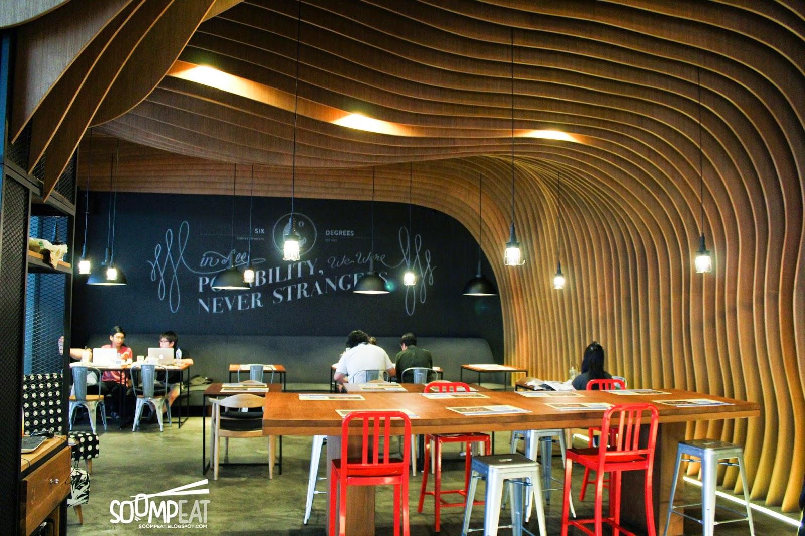 6 degrees coffee drinkers mall alam sutera tangerang soompeat indoor dining area altavistaventures Image collections