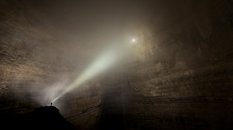 Mundo subterráneo: las impresionantes fotografías de cuevas de Robbie Shone