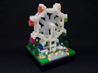 ナノブロックで作った観覧車
