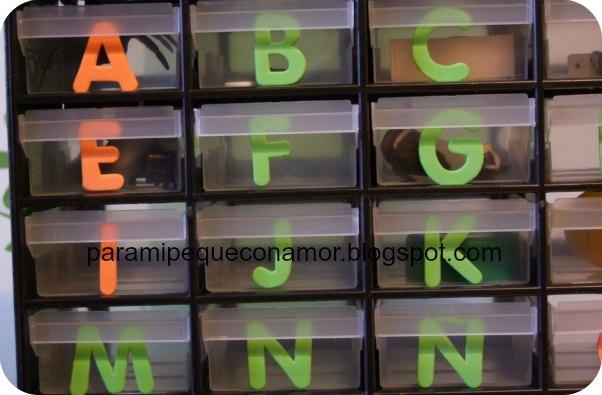 Para mi peque con amor: Nuestra caja de letras