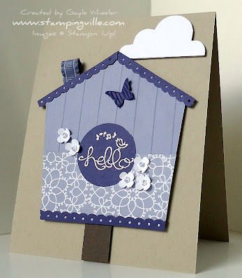 Stampin' Up! Swirls & Curls Verses Greeting Card