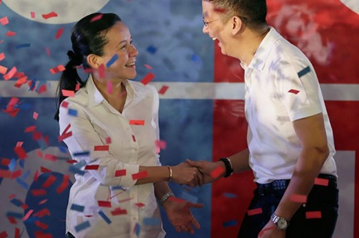 Poe and Escudero 2016 elections