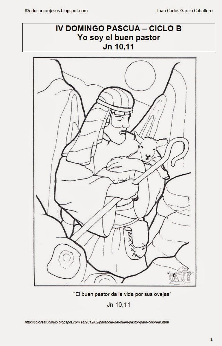Excelente Página Para Colorear De David El Pastor Composición ...