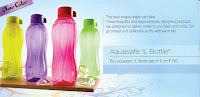 Tupperware Aquasafe Water Bottles ltr